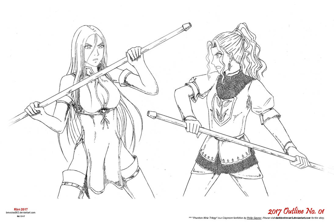 Polearm Practice Outline-1000p by bmesias063 on DeviantArt