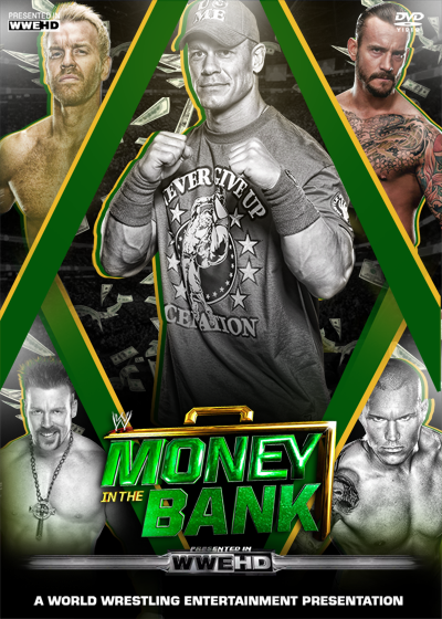 Money in the Bank 2011 Poster by NS-Designer