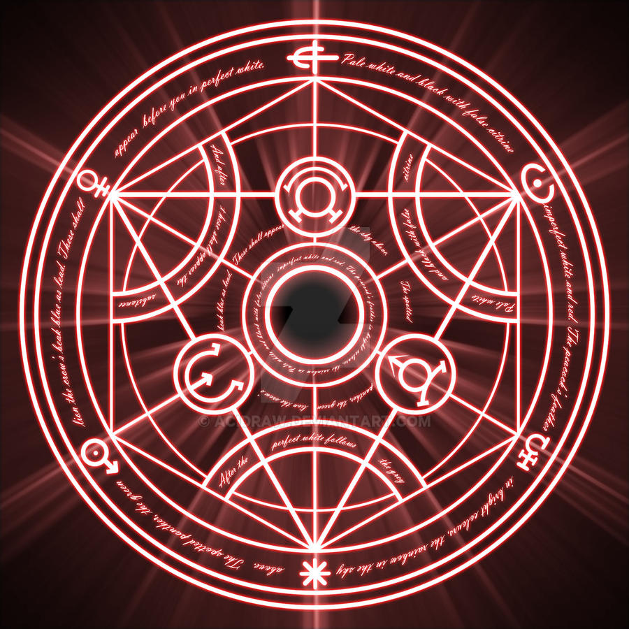 Alchemy Fullmetal Alchemist Wiki FANDOM Powered By Wikia Transmutation Circle Watch