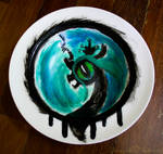 Queen Chrysalis Plate