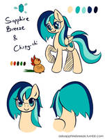 Sapphire Breeze Ref V02 by Chirpy-chi
