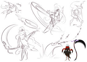 Void Moon Concept Sketches by Chirpy-chi