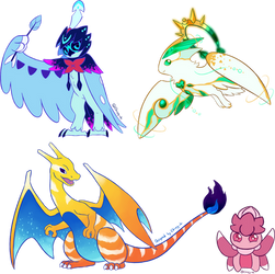 Special Pokemon Designs by Chirpy-chi