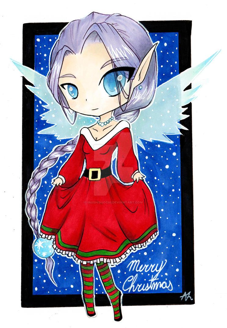 Christmas Fairy by IniishiSuochi