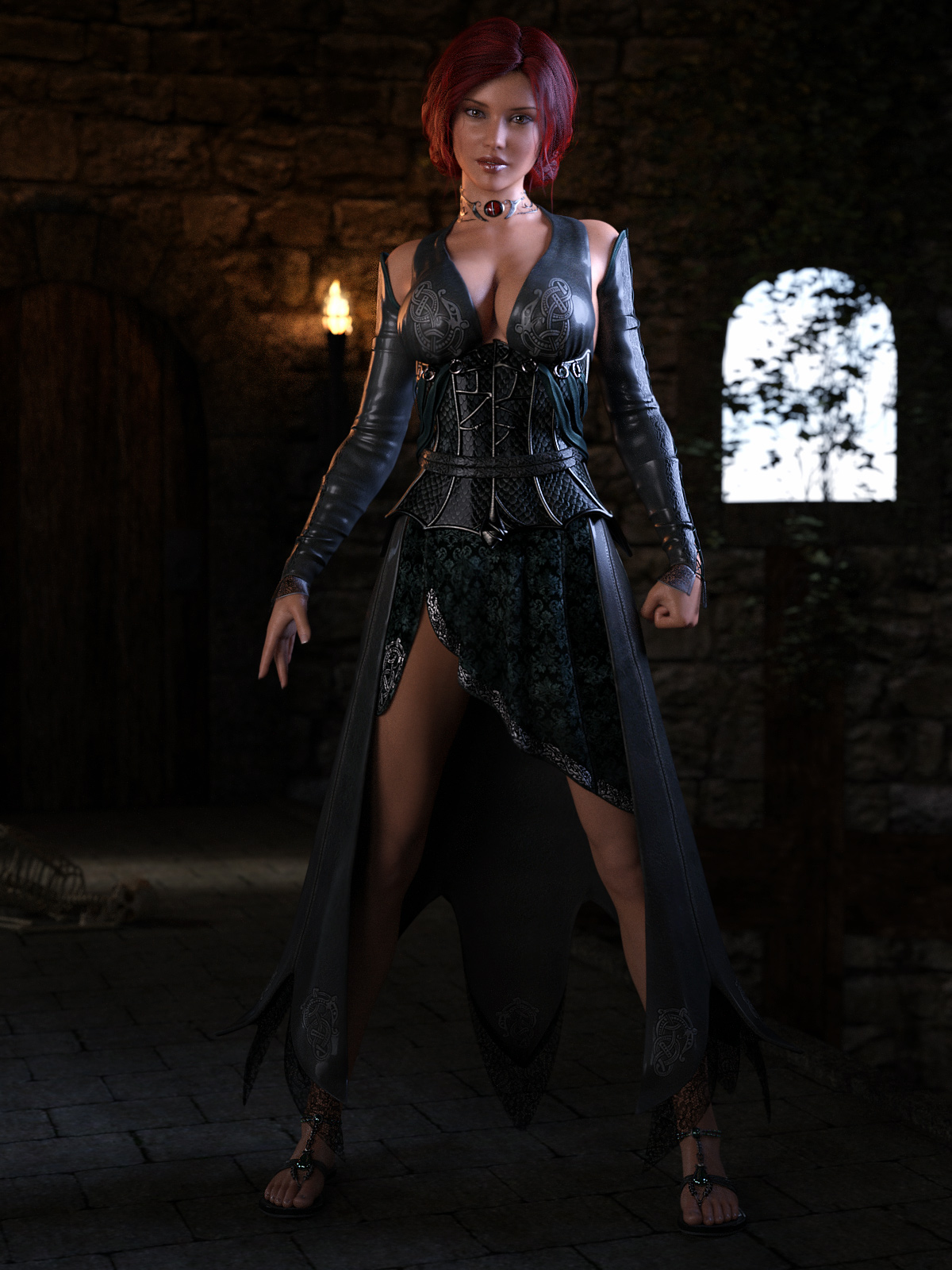 Triss-like Sorceress by stoper