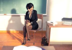 New Teacher by stoper