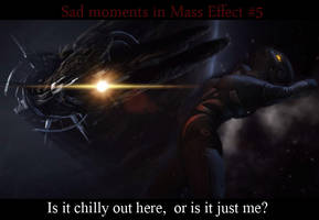 Sad moments in Mass Effect 5 by maqeurious