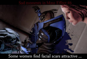 Sad moments in Mass Effect 6 by maqeurious