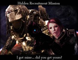 Hidden Recruitment Mission by maqeurious