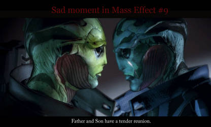 Sad moments in Mass Effect 9 by maqeurious