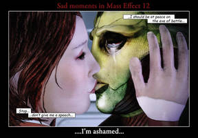 Sad moments in Mass Effect 12 by maqeurious