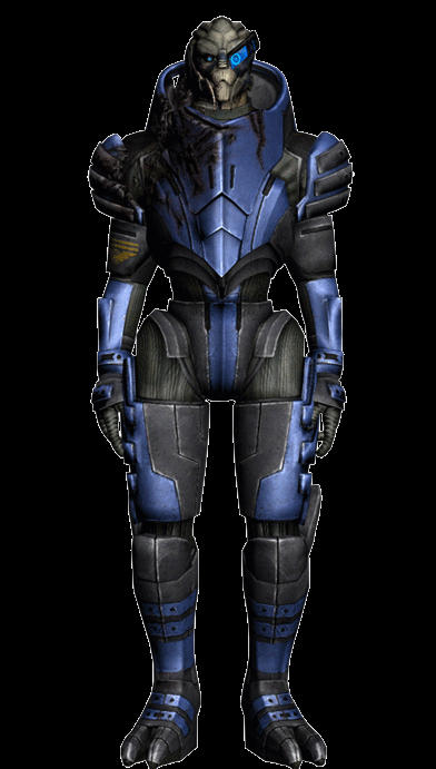 Garrus Stretch  Animated Gif by maqeurious