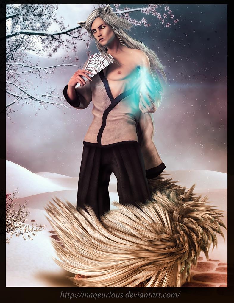 Fox Spirit by maqeurious