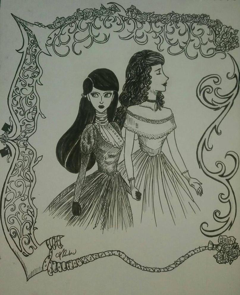 Liddell Sisters by kksfriend1000