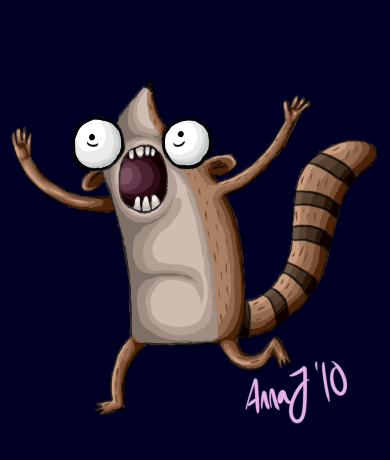 - rigby. by Ducktrot