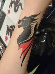 - dragon tattoo.