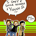 SPN-I can't smile without you