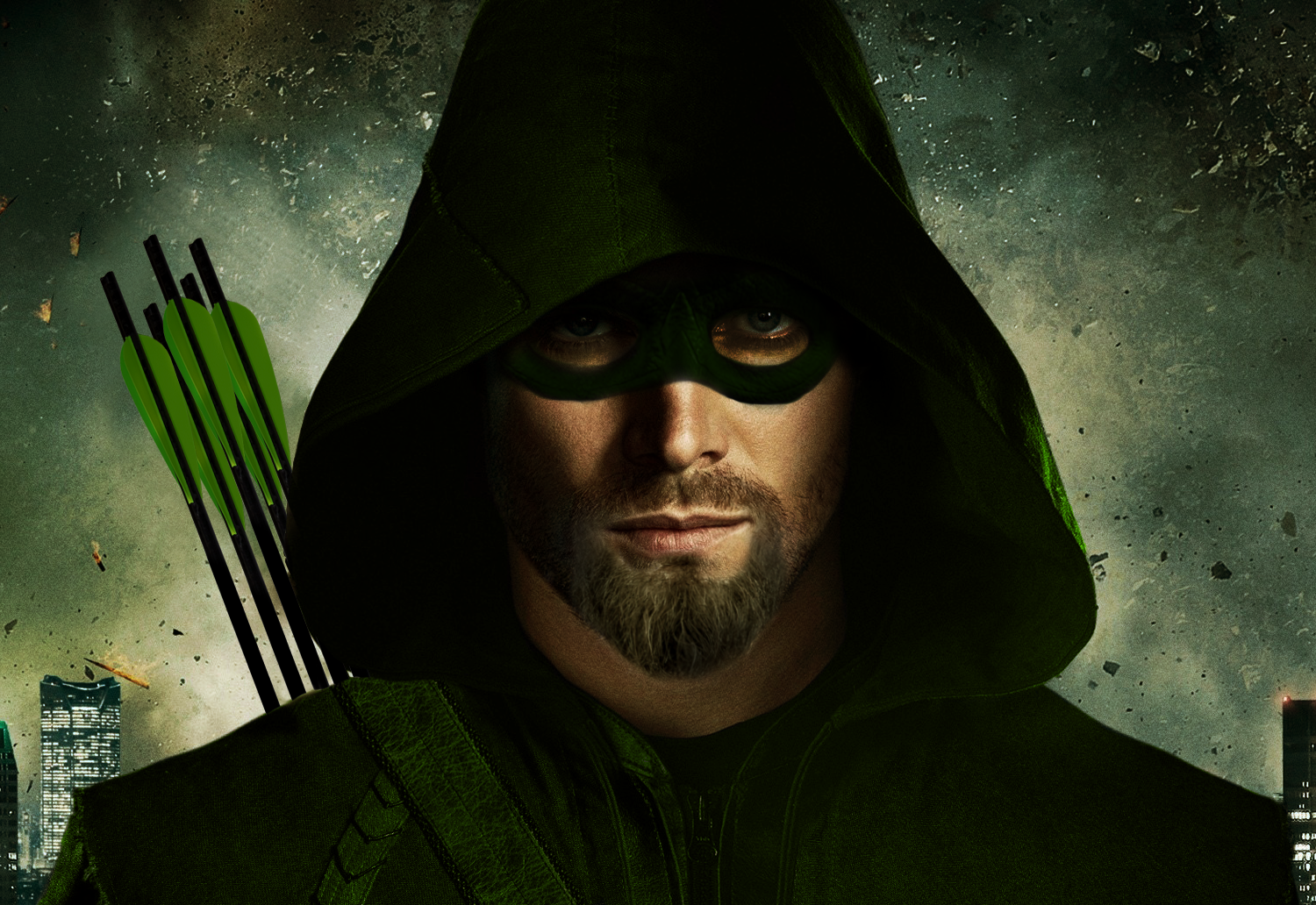 Green Arrow Poster For Season 4 Of By PreSlice