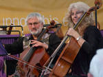 The Cellists by Clangston
