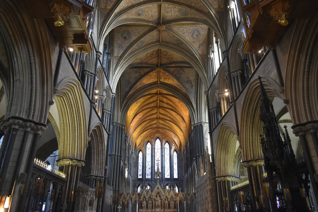 Worcester Cathedral by Clangston