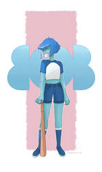 Bob (Lapis from Steven Universe) by Insunnine