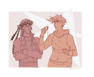 Jojo and Caesar by Insunnine
