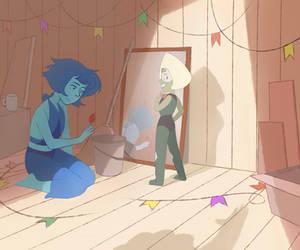 Barn mates (Steven Universe) by Insunnine