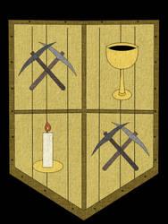 Ysgur City Shield- Yel Smeri (the yelling servant)