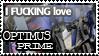 Optimus Prime Stamp