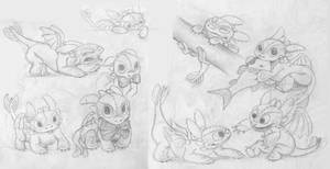 Toothless Baby Doodles2