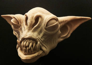 Goblin creature by gritsfx