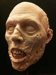 Zombie head by gritsfx