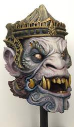 Hanuman mask by gritsfx