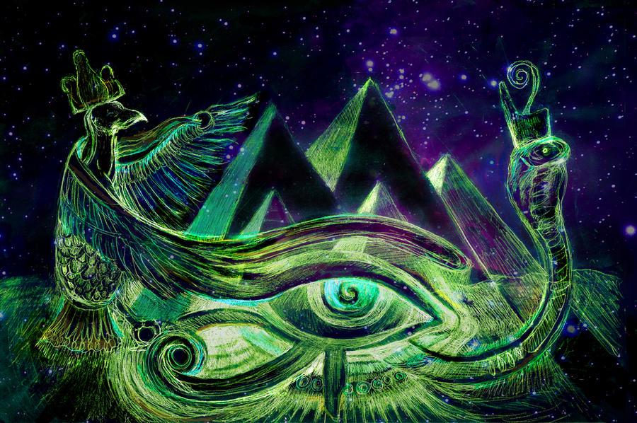 eye of ra art