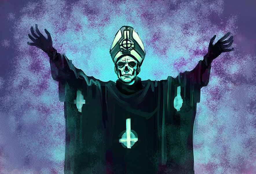 gallery for papa emeritus wallpaper