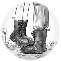 the only kind of boots i like to draw