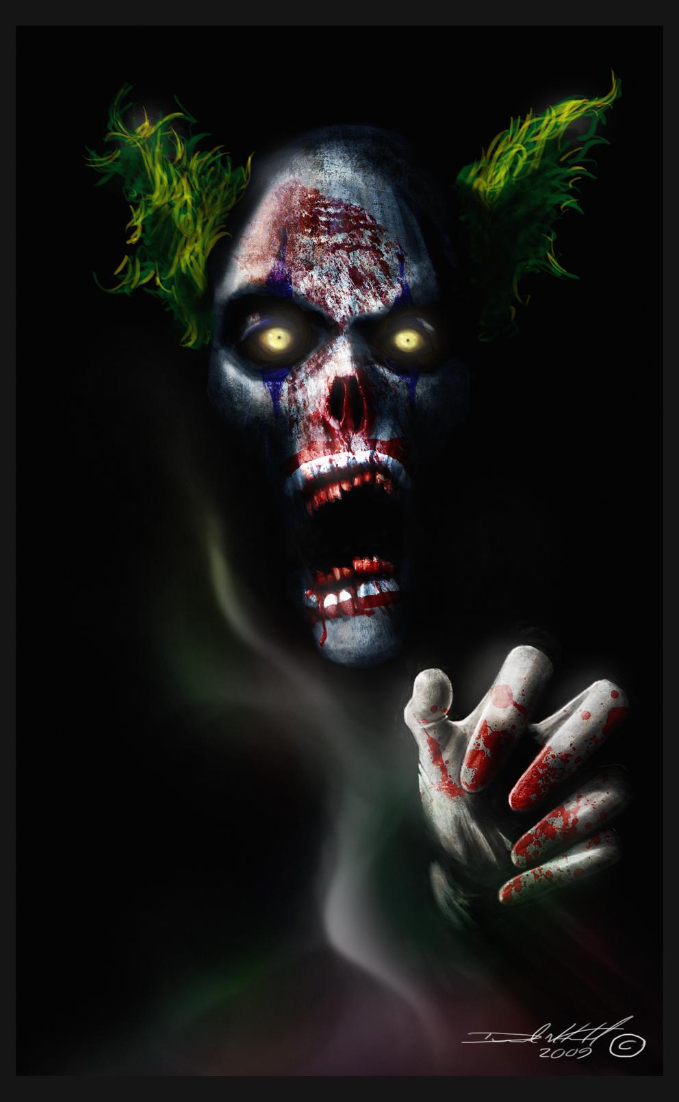 Clown Demon by GhostDesign on DeviantArt