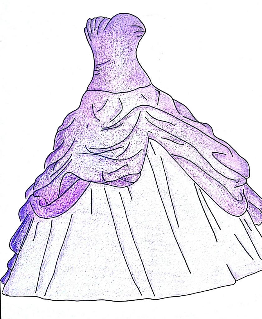 Disegni di vestiti di moda vt32 pineglen for Disegni di girasoli da colorare