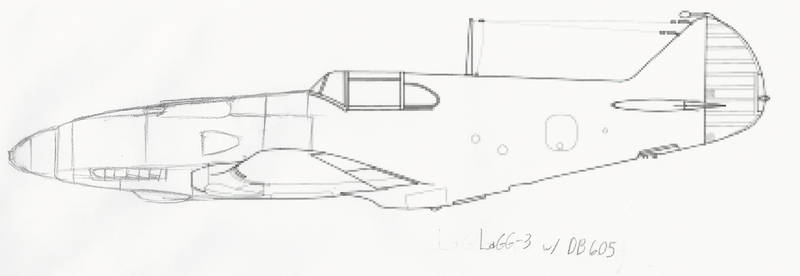 Aircraft Modification: LaGG-3 w/ DB 605