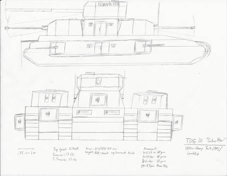 TOG III - Ultra-Heavy Tank/APC