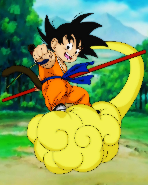 Kid Goku | Nimbus! by Mitsu-Ino