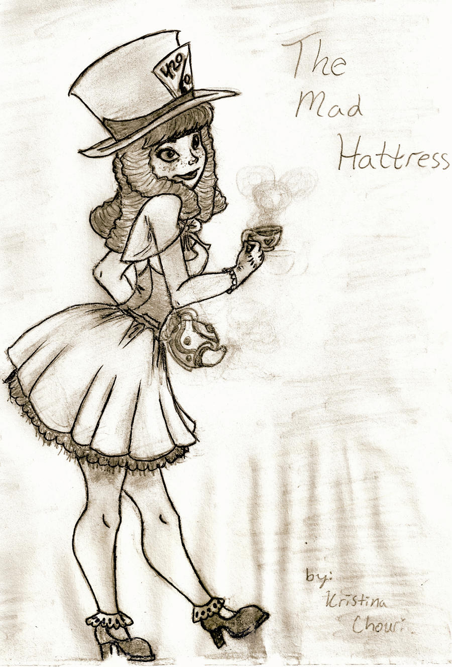 Mad Hattress by Chourios