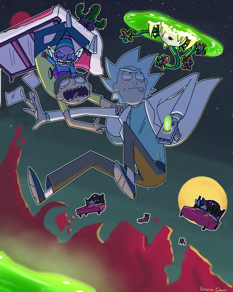 Rick and Morty Submission by Chourios
