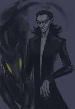 Pitch Black Loki