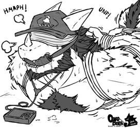Baseball Dad in Trouble by Onodera-kun