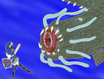 Link And Morpheel - request
