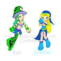 Crystal n Kat by Luifex