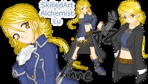 Lu The SkilledArt Alchemist by Luifex