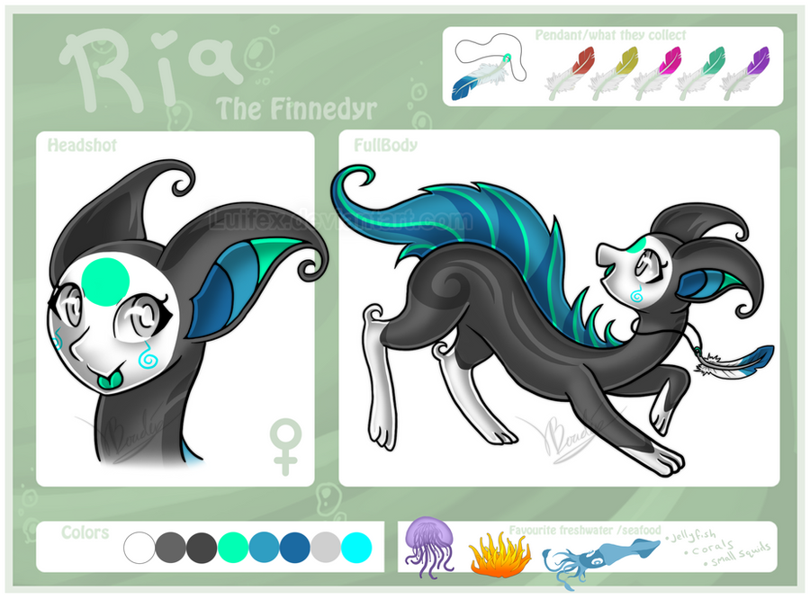 Ria The Finnedyr by Luifex