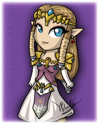 Chibi Princess of Hyrule